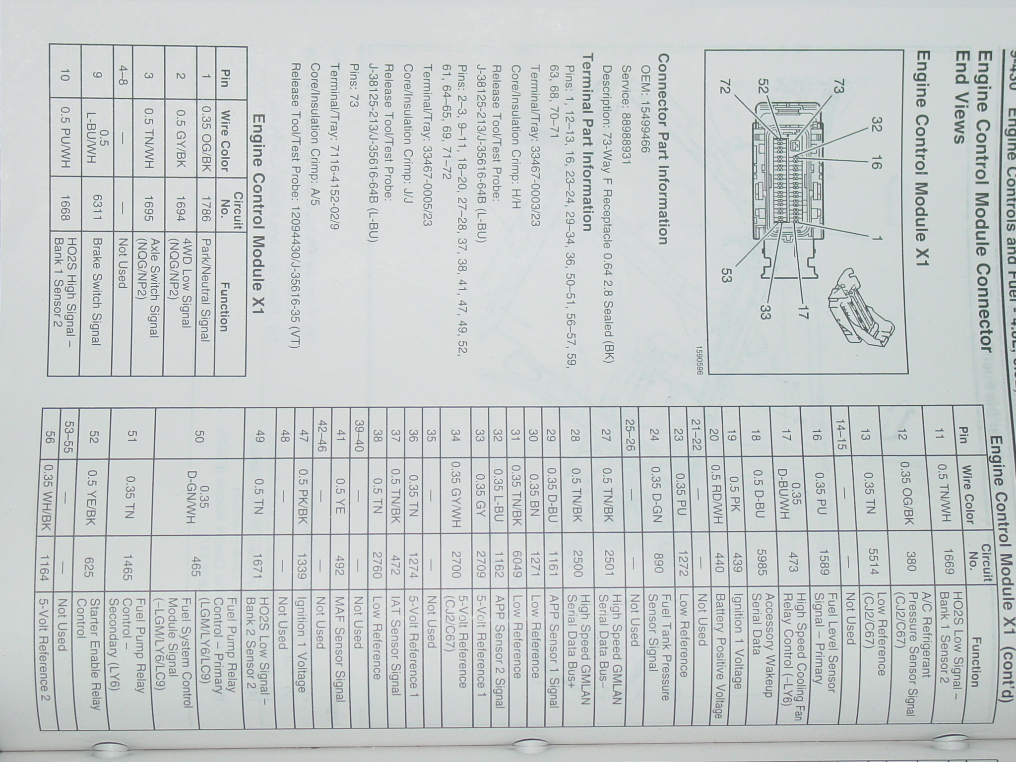 Duramax Ecm Pinout 2003 Wiring Diagram Pin Out For Electric Fans 2048x1536